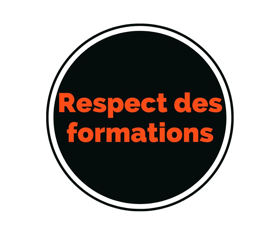 valeurs delta formations gardoises - respect des formations