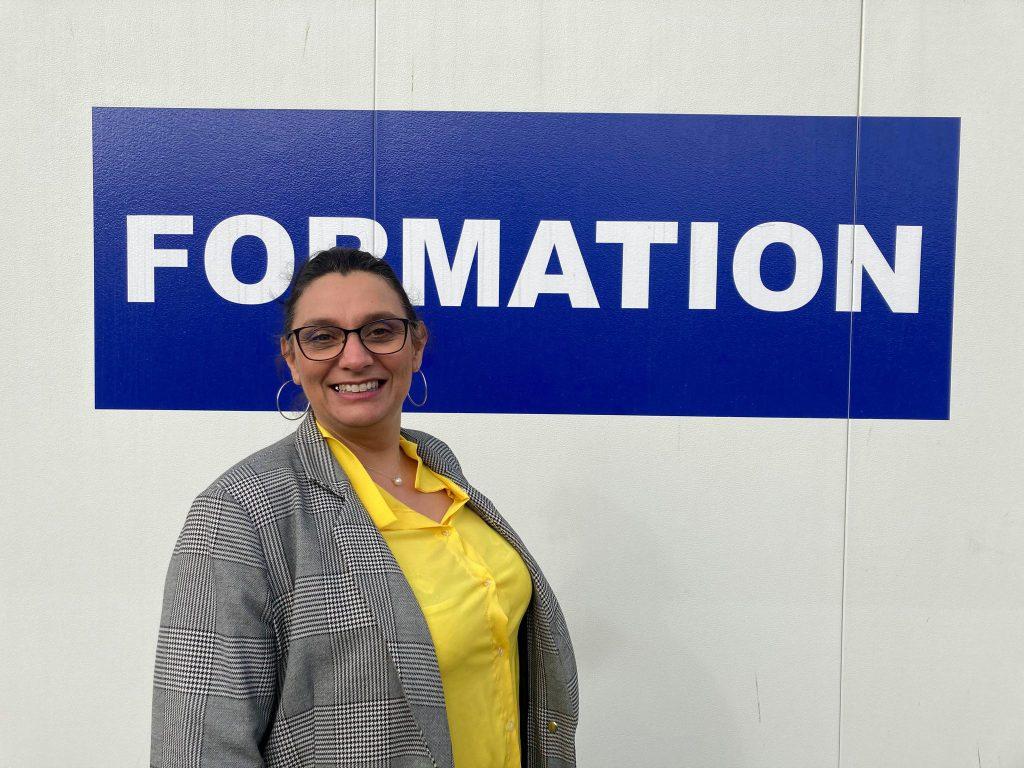 Agnès Flamme chef d'entreprise de Delta Formations Gardoises